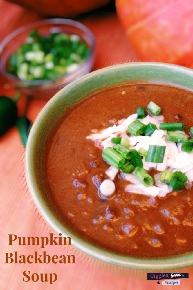 pumpkin blackbean soup