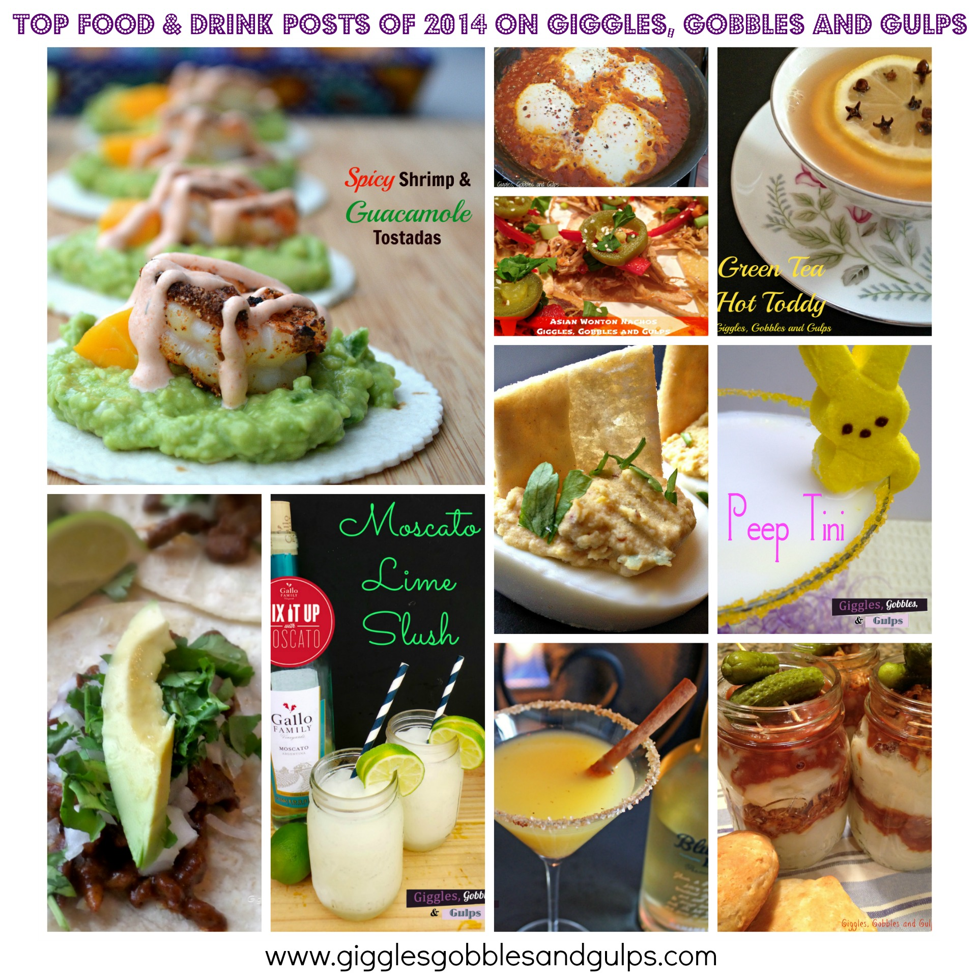 2014 top food and drink posts