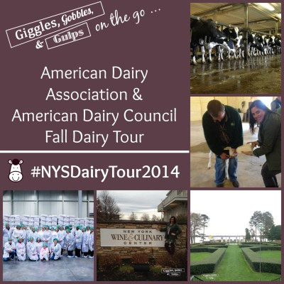 American Dairy Association & American Dairy Council Fall Dairy Tour – #NYSDairyTour2014