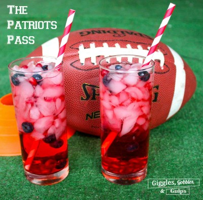 """The Patriots Pass – """"Big Game"""" Cocktail"""