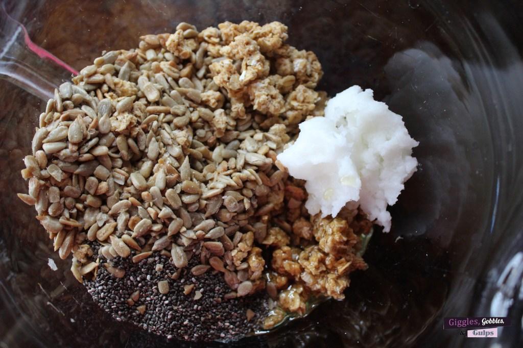 granola croutons