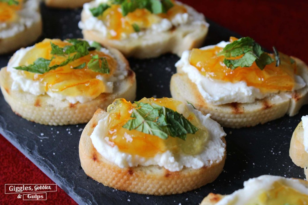 orange marmalade and ricotta bruschetta2