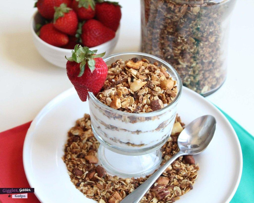big batch nut granola