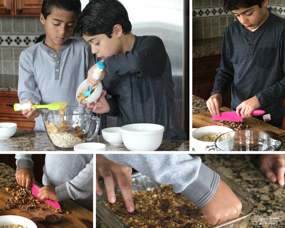 Mini Chef Mondays Granola Bars1