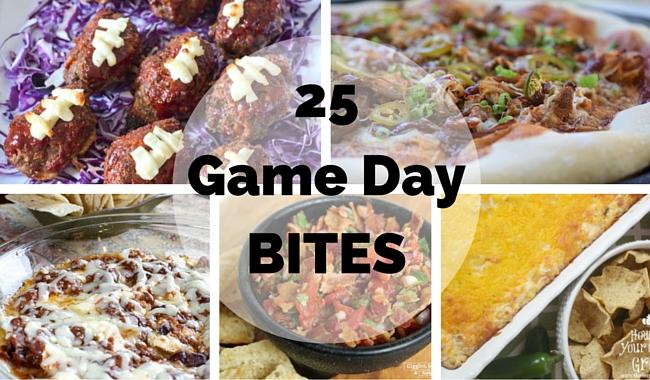 25 Game Day Bites