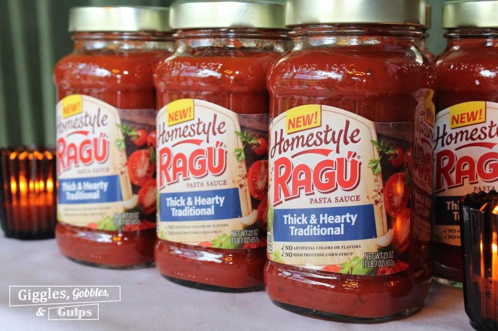 RAGU Homestyle Sauce