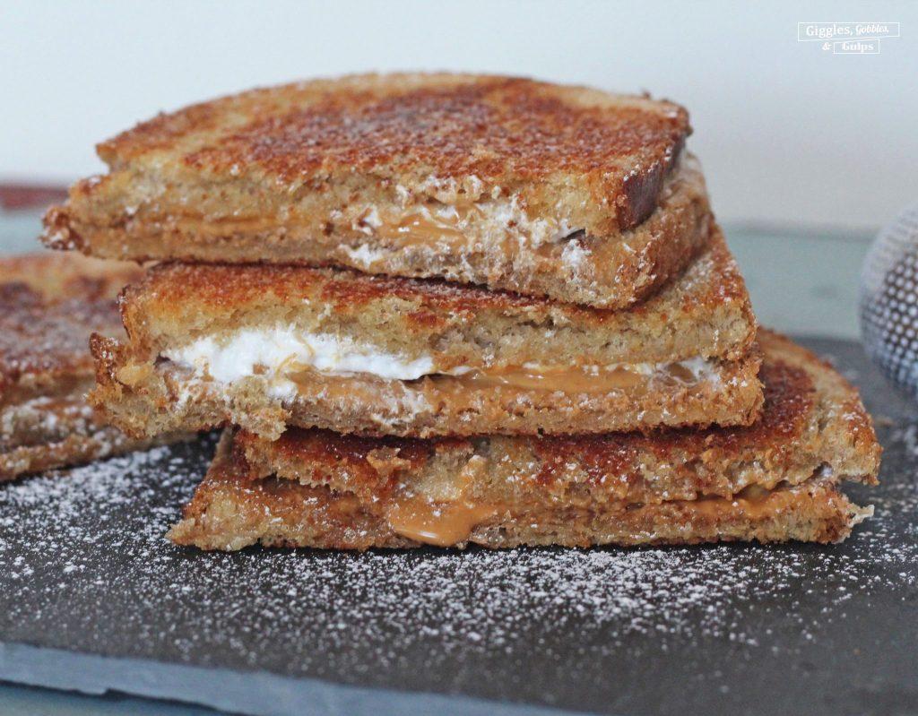 grilled fluffernutter sandwich