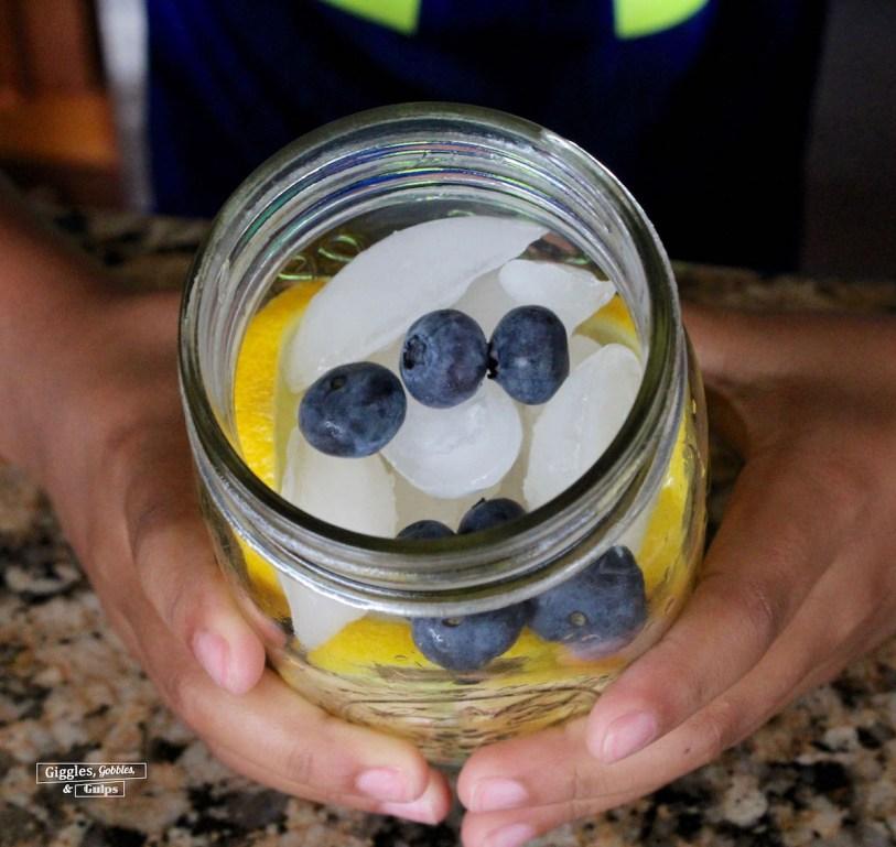 Red, White and Blue Lemonade Mocktail