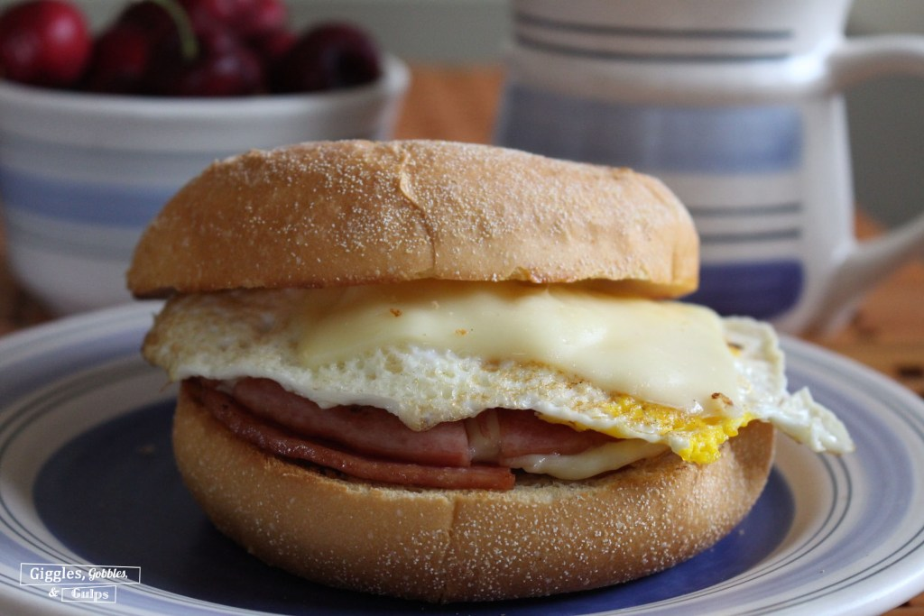 pork roll egg and cheese sandwich