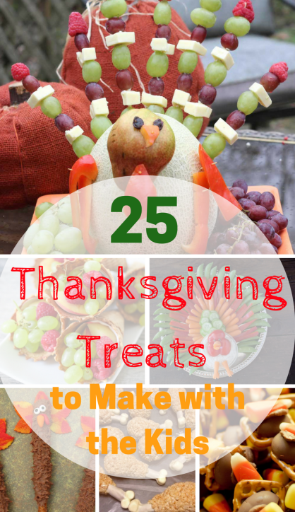 Thanksgiving Treats to Make with the Kids