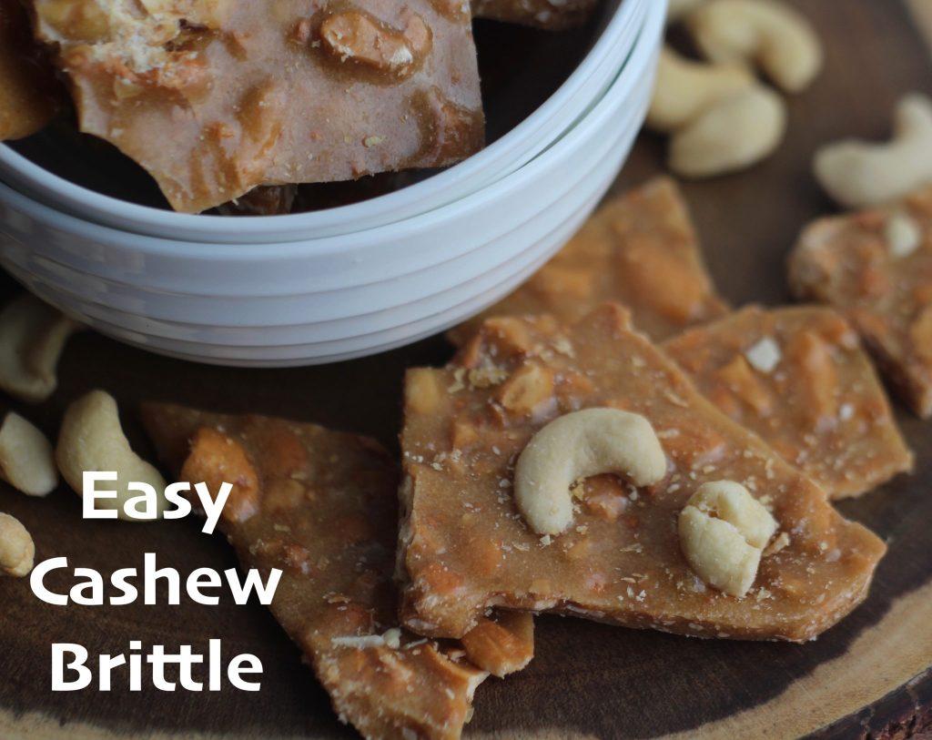 Easy Cashew Brittle