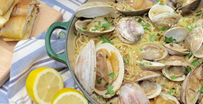 Father's Day Clams and Linguine