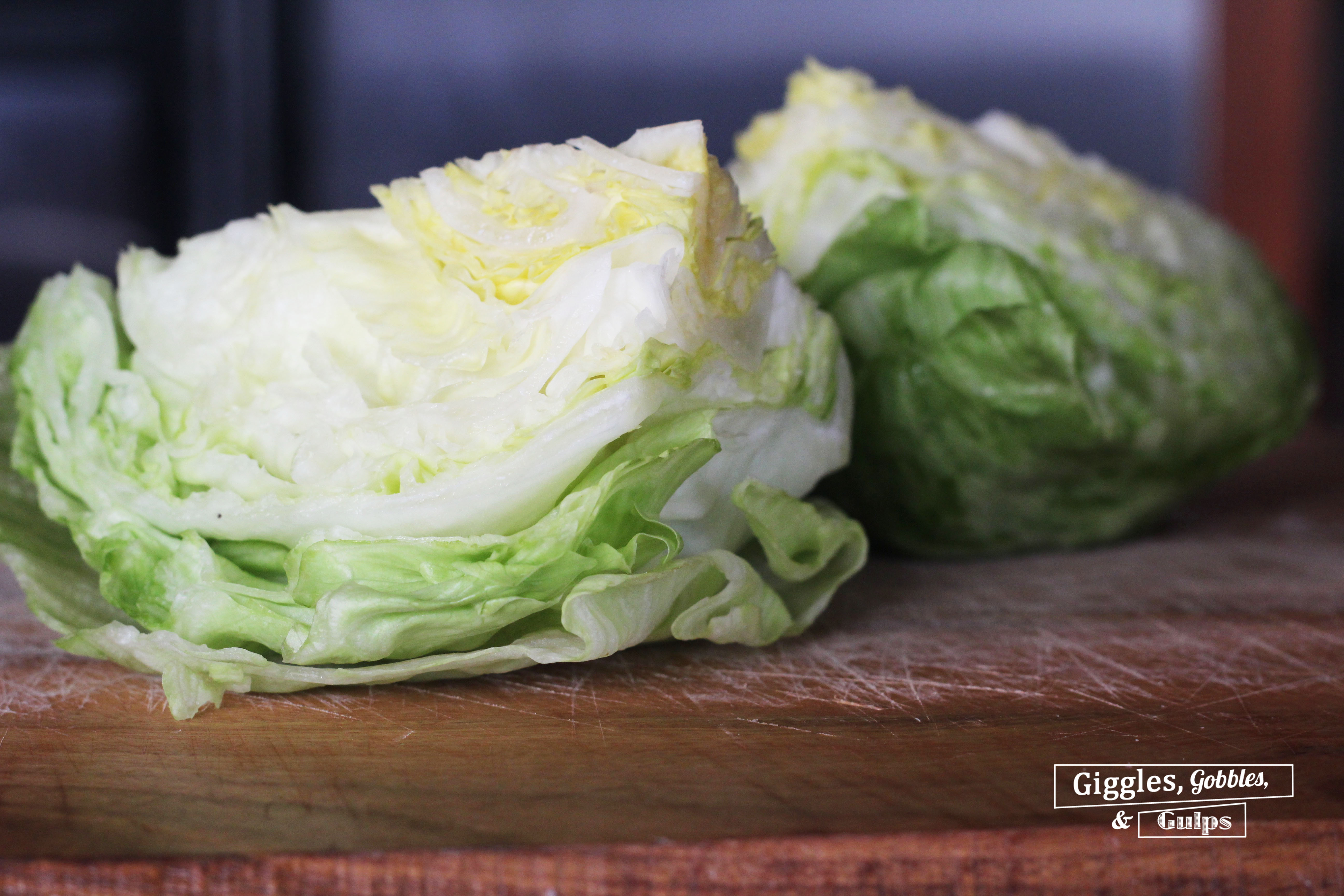 Break out the grill and enjoy Summer seafood and vegetables with this easy and elegant Grilled Shrimp Iceberg Lettuce Wedge Salad