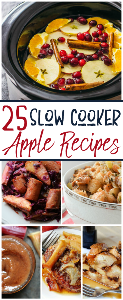 25 Slow Cooker Apple Recipes