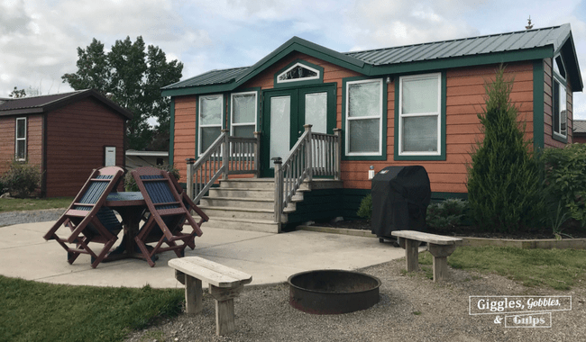 Deluxe Cabin at Kampgrounds of America Niagara Falls Grand Island