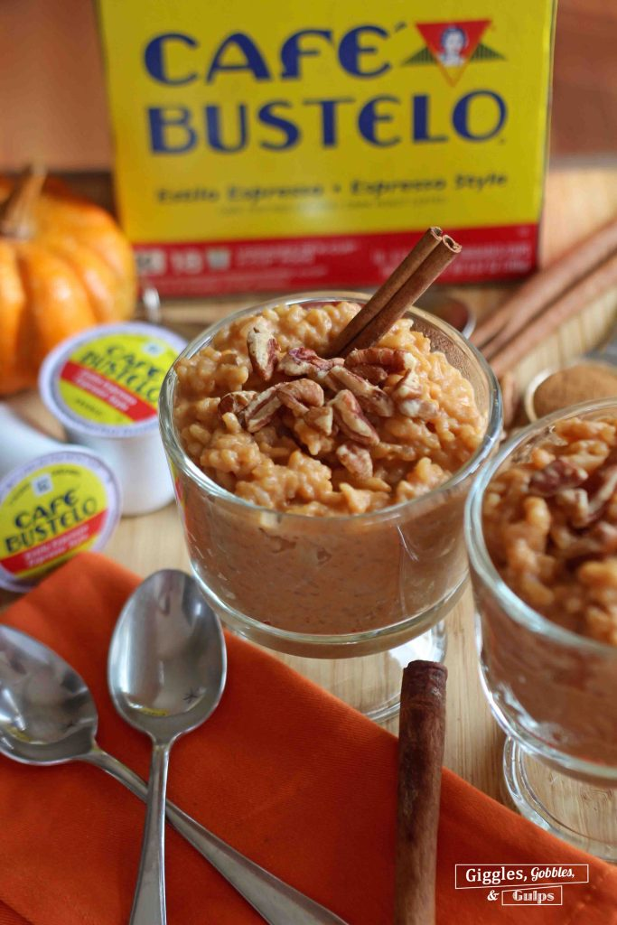 pumpkin rice pudding 5