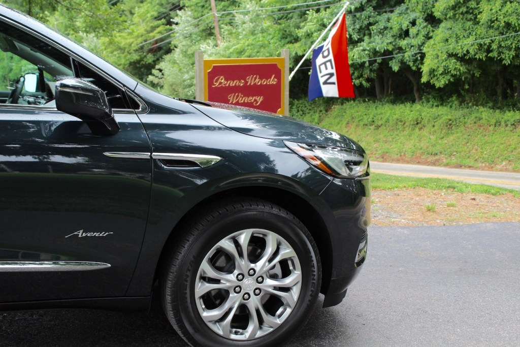 penns woods winery buick enclave avenir