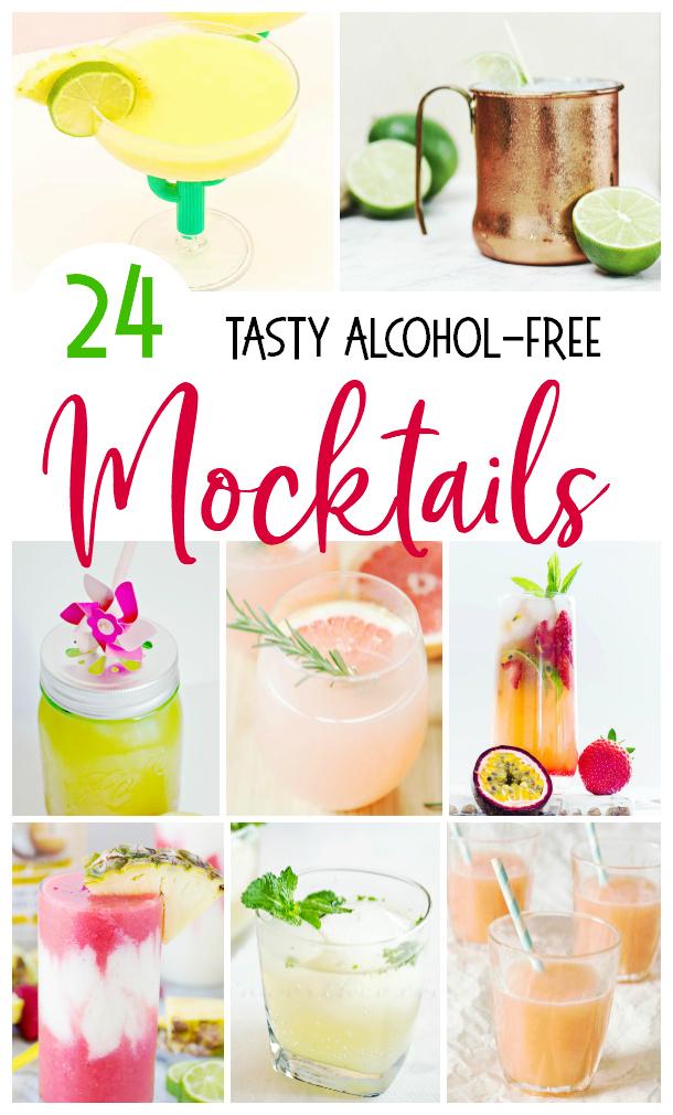 alcohol-free mocktails