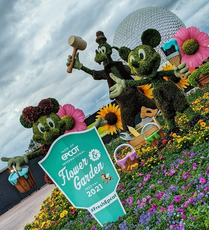 Epcot International Flower and Garden Festival Top 10 menu items