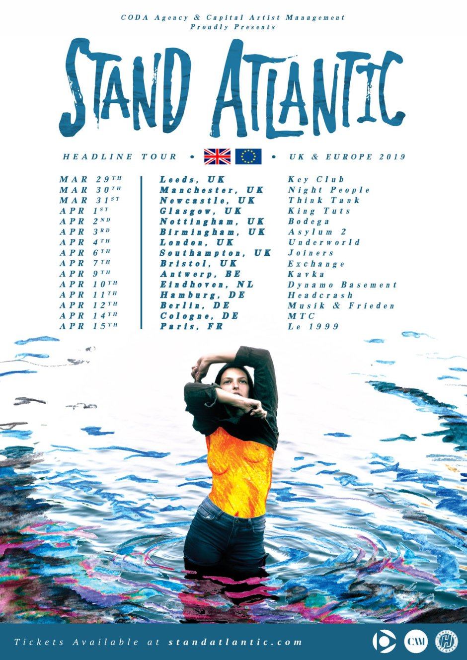 Stand Atlantic Tour 2019