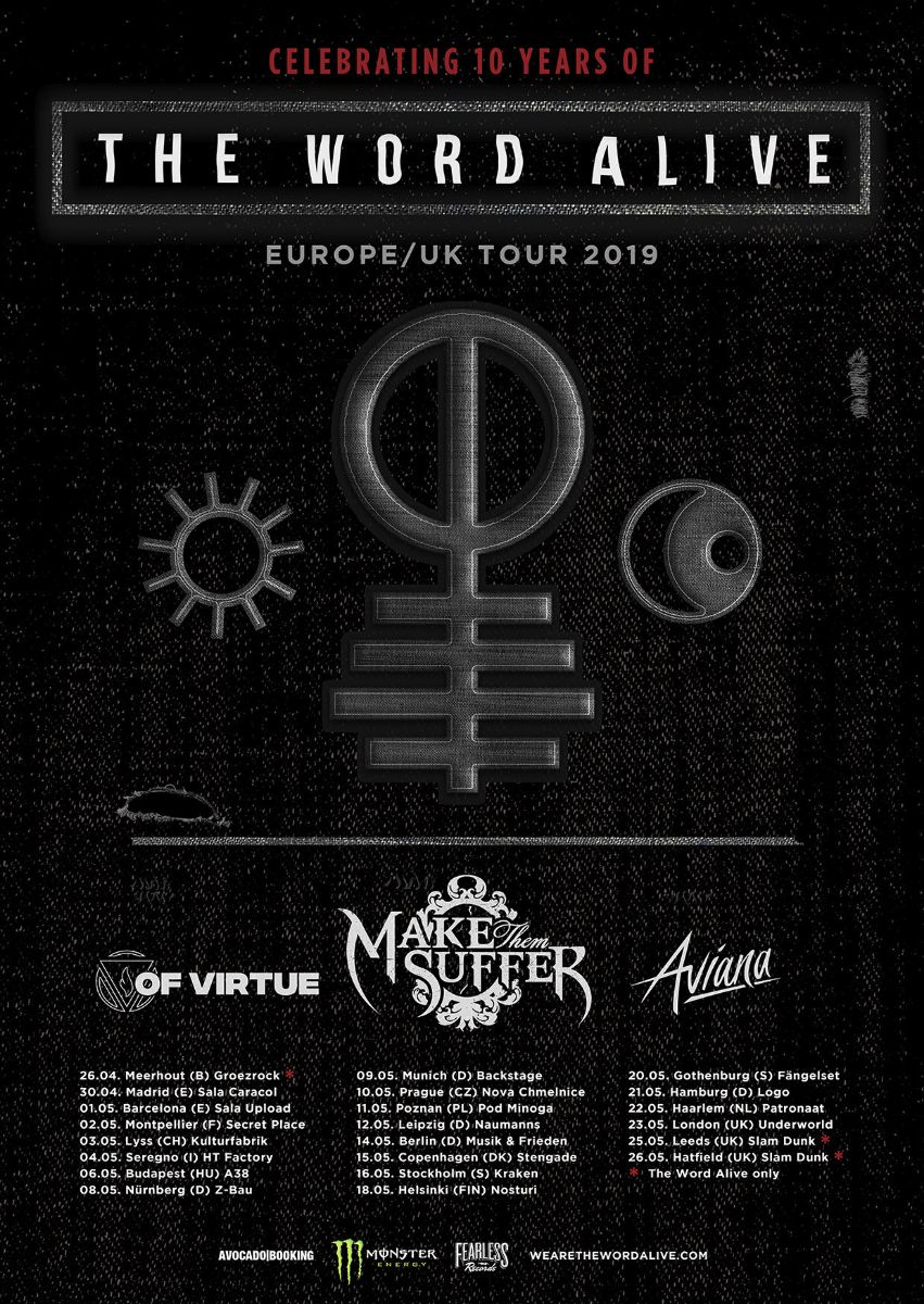 The Word Alive tour 2019