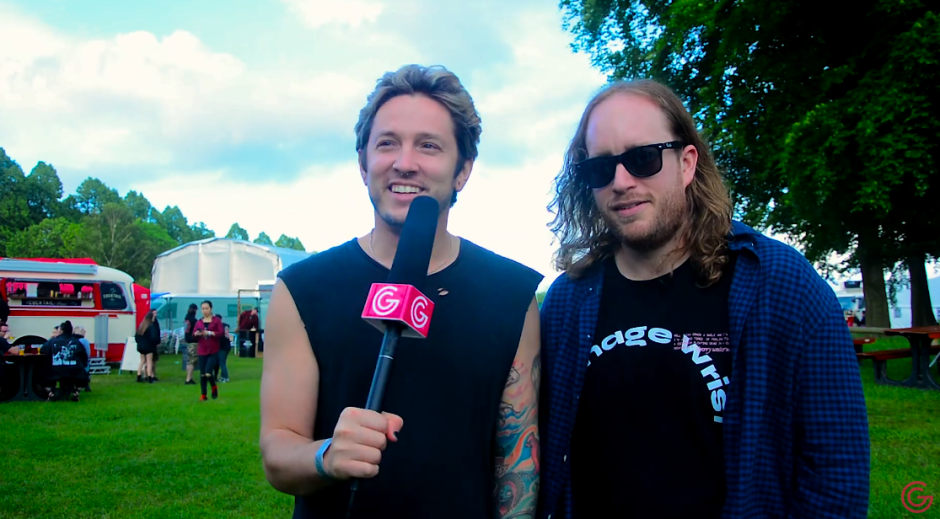 The Word Alive Slam Dunk Interview 2019