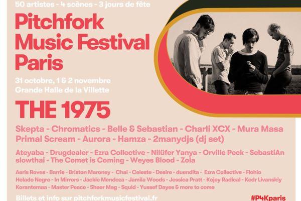 The 1975 Pitchfork Paris 2019