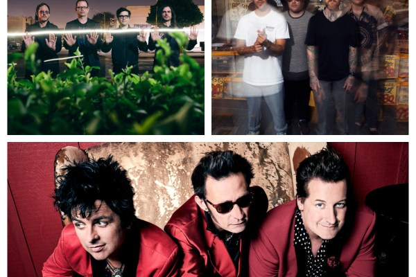 Green Day Fall Out Boy Weezer Hella Mega Tour