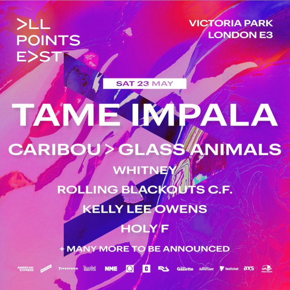 All Points East - Tame Impala - 1st poster 2020