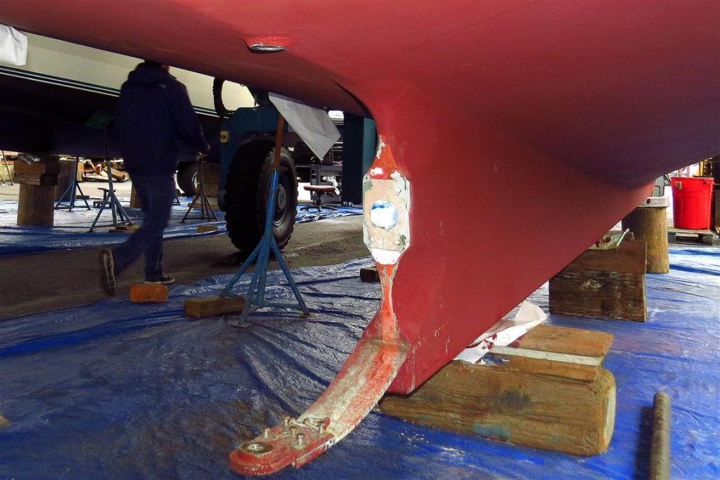 shaft log replaced