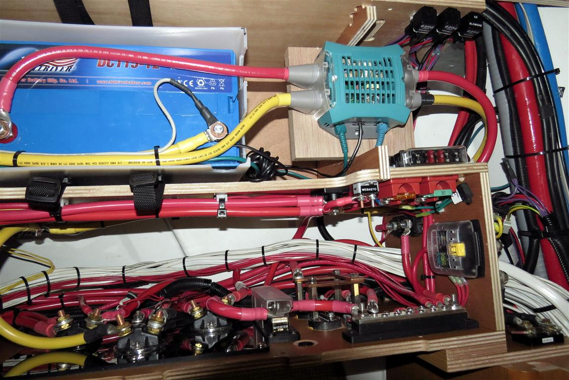 Wiring House Batteries Boat