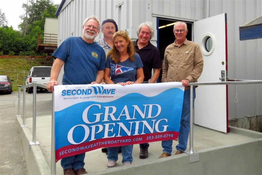 Second Wave Grand Opening