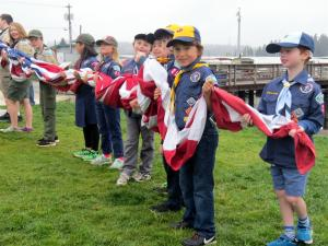 Cub Scouts Flag Day