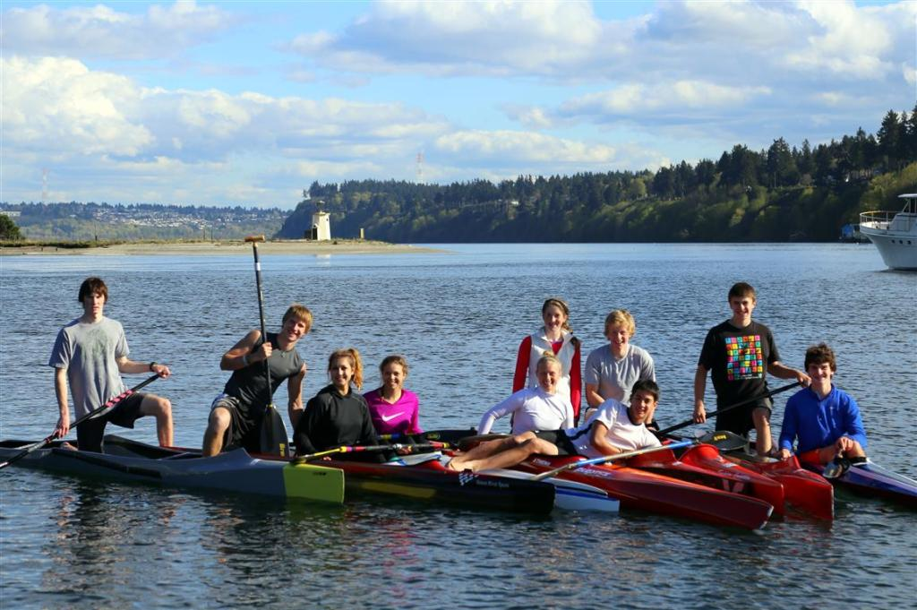 canoe and kayak team
