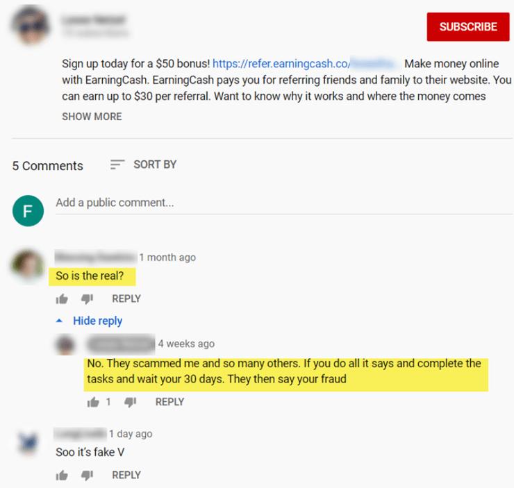 EarningCash Reviews - YouTube