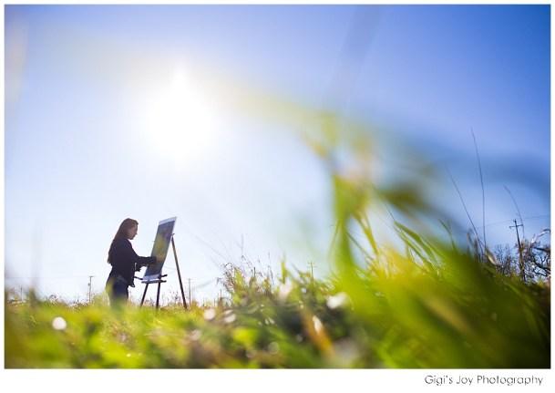 Gigi's Joy Photography: Union Grove Senior Photographer art artist