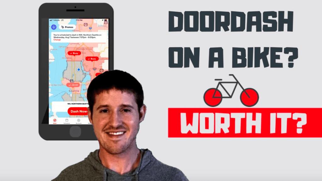 doordash bike dasher