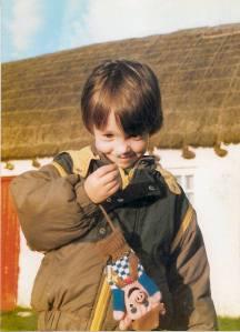 Luke In The Isle of Man in the 80s