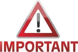 Agency Important Notice