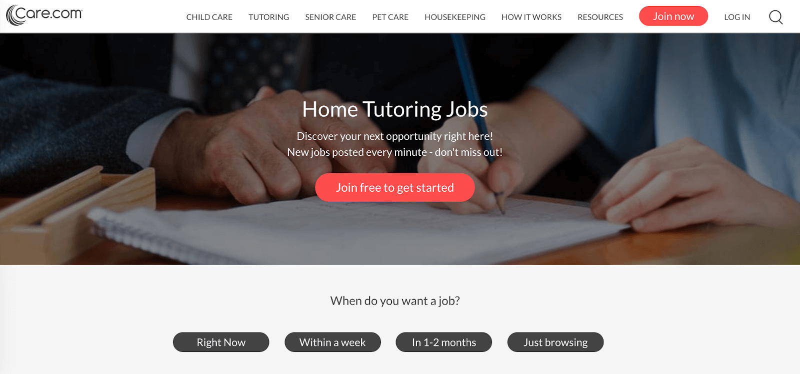 What You Need to Know About the Care.com Tutor Service