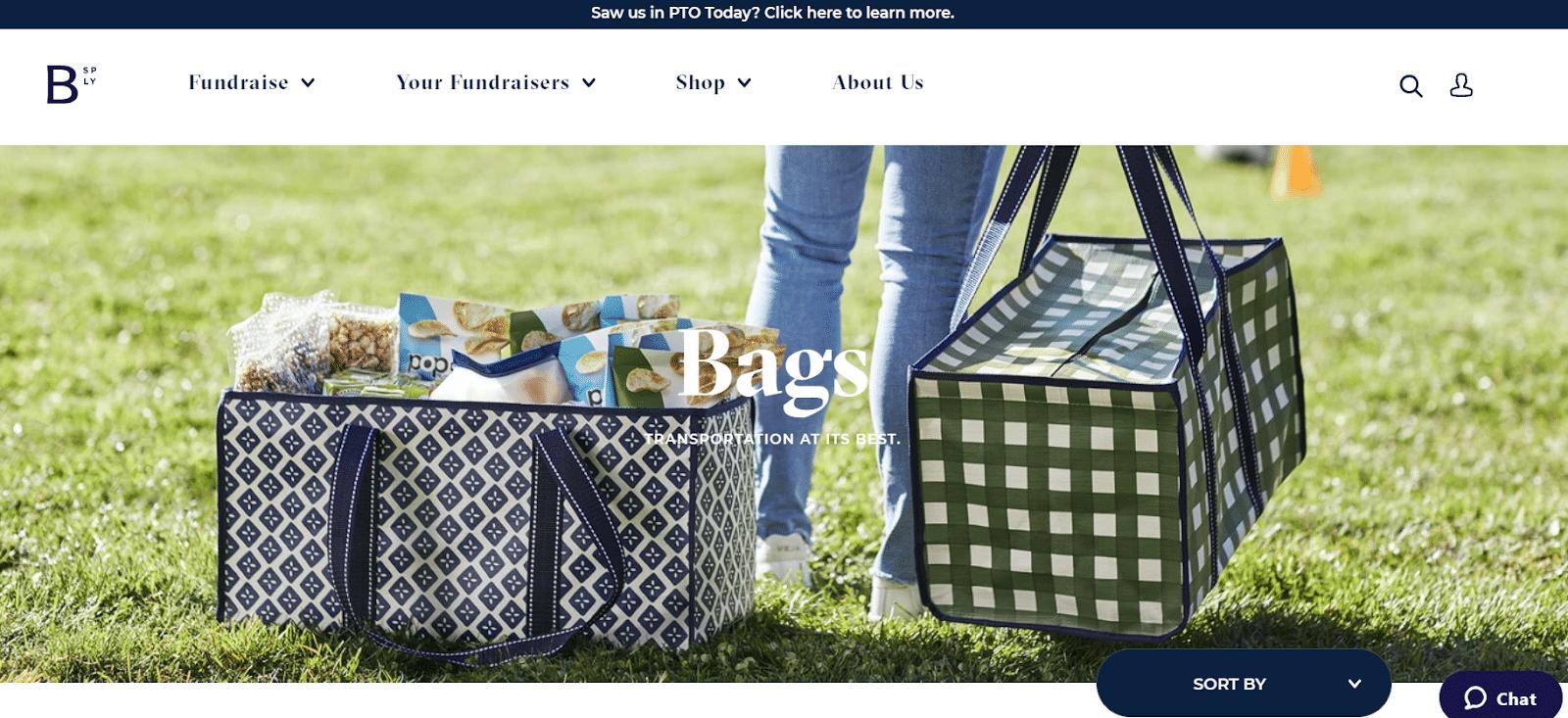 mixed bag designs fundraising