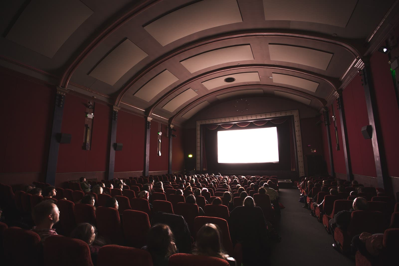 How to Become a Movie Critic: movie theater