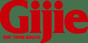 Gijie トラウトフィッシングマガジン ロゴ
