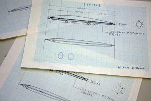 ツインクル初期モデルの設計図