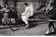 Moravia, Olomouc, Carnival, 1968, by Josef Koudelka (Magnum Photos)
