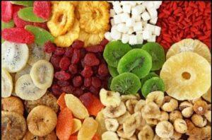 Buah kering meningkatkan kadar gula darah