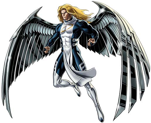 Ангел Люди икс комиксы