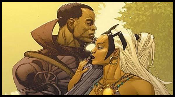 Шторм Люди Икс комикс марвел