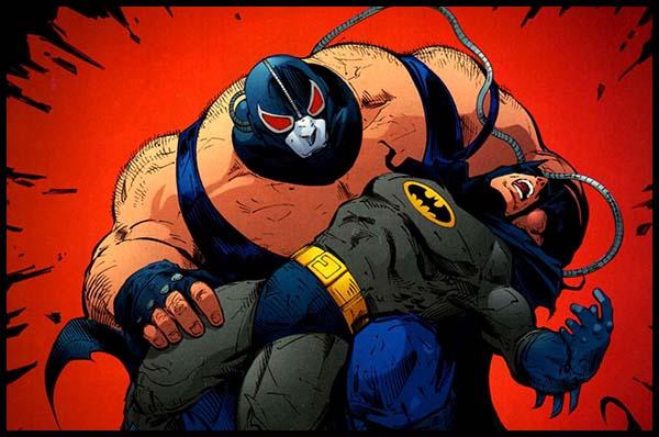 Бэйн сломал спину бэтмену комиксы история DC