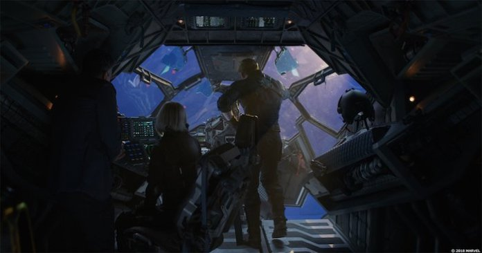 Мстители Война бесконечности спецэффекты vfx